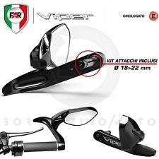 FAR VIPER SHIELD LEVER SPECCHIETTI RETROVISORE MOTO MANUBRIO 18-22 mm BILANCIERE