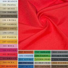 Tessuto Made In Italy Tinto In Filo Al Metro Tinta Unita Tappezzeria Rivestim...
