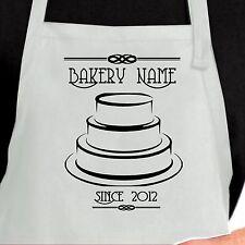 Personalized Baker Apron.  Custom bakery cake Apron. Chef Baker Apron
