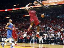 LeBron James Monster Dunk Miami Heat Sport Huge Giant Print POSTER Affiche