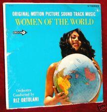 OST WOMEN OF THE WORLD RIZ ORTOLANI DECCA STEREO SEALED