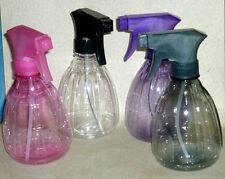 Plástico de agua botella de spray Rosa Gris Morado Salon Pelo plantas Mascotas Valet Jabón