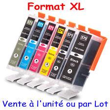 Cartouches d'encre compatibles Canon PGI570 CLI571 XL x1 4 5 6 8 10 12 15 20 25
