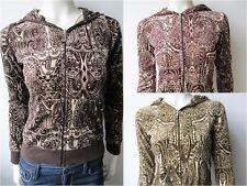 Juicy Couture Dylan Joni Paisley Sweatjacke Jacke Sweater Neu