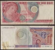 100000 LIRE BOTTICELLI 20/6/1978 AA