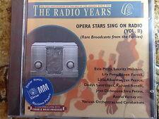 OPERA STARS VOL 2(WAGNER,VERDI,ROSSINI, PUCCINI, MELCHIOR)- CD NUOVO (SEALED)