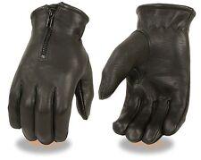 Men's Deerskin Leather Thermal Lined Glove w/ Zipper Cuff