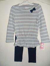 Circo Infant Toddler Girls' Long-sleeve Top and Legging pant Set Size:12M,3T,4T