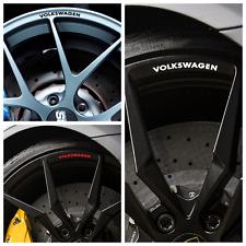 8 VOLKSWAGEN VW Rader Rad Felgen Vinyl Aufkleber Polo Golf Scirocco Passat Gti R