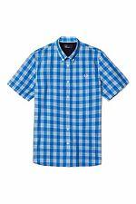 Fred Perry Men's Tartan Gingham Short Sleeve Shirt Sizes: S / M