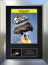 TRAVIS PASTRANA Nitro Circus Signed Autograph Mounted Photo Repro A4 Print 454