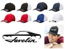 1968 1969 AMC Javelin Classic Car Color Outline Design Hat Cap