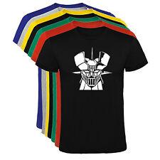 Camiseta Mazinger Z cabeza Hombre varias tallas y colores a135