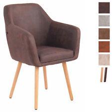 Chaise de Salle à Manger UTRECHT Similicuir Style Vintage Chaise Design Retro