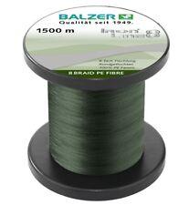Balzer IRON LINE 8 BRAID PE FIBRE grün - 100m Geflochtene Schnur