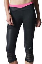 NWT Womens Adidas Supernova 3/4 Running Fitness Yoga crop pants Tights M62451