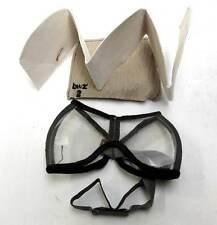 German Dust Goggles WW2 Protection & bwz 2 marked case original DAK eye Shield