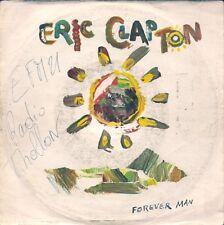 45 TOURS--ERIC CLAPTON--FOREVER MAN--1985