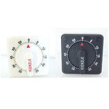 Minuteur mécanique Kienzle - Noir ou Blanc - À poser ou à accrocher au mur