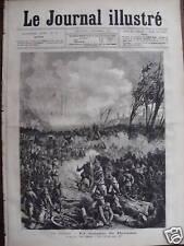 LE JOURNAL ILLUSTRE 1877 N 36 LA BATAILLE DE DJOUMA