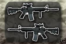 M4 Carbine SOPMOD Gun decal sticker M4A1 Rifle