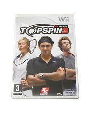 Topspin 3 Para Nintendo Wii
