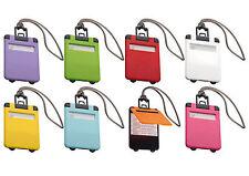 5 x Kofferanhänger Gepäckanhänger Namensschild Anhänger Kofferschild