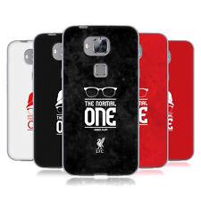 Ufficiale Liverpool Football Club Klopp icone Soft Gel Custodia per Huawei Telefoni 2