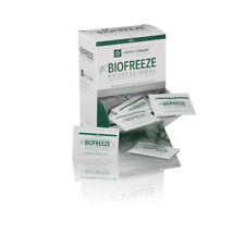 NEW BIOFREEZE PAIN RELIEVING GEL 3 GRAM TRAVEL/ SAMPLE PACKETS BIOFREEZE