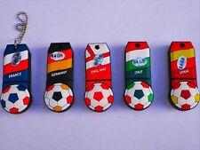 64 GB NOVITA 'CALCIO loro Chiavetta USB 5 paesi in magazzino Hot Regalo