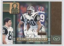 1999 Pacific Omega Gold #162 Wayne Chrebet New York Jets Football Card