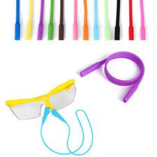 2Pcs Silicone Straps Glasses Sunglasses Chain Sports Band Cord Holder Anti Slip