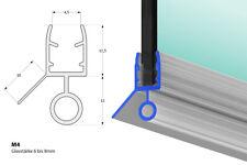 Duschdichtung M4 Dichtung Dusche Duschkabine für 6mm, 7mm und 8mm Glasdicke