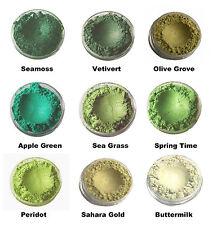 Mineral Mojo Natural Mineral Eyeshadow Large 10ml Sifter Jar (2 - 3g)  Greens