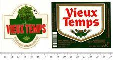 Beer Label - Belgium - Vieux Temps