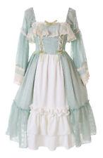 JL-678 Edel Grün Rüschen Kleid Barock Vintage Gothic Lolita Kleid Kostüm Cosplay