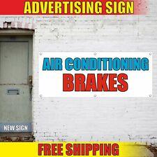 Air Conditioning Brakes Banner Advertising Vinyl Sign Flag auto shop repair open