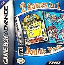 2 Games in 1 Double Pack: SpongeBob SquarePants & Fairly OddParents (Nintendo Ga