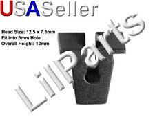 M4.8mm #10 Screw Grommet Nylon Clip Nut Retainer Audi VW 811-807-577-C