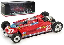 Brumm R367T Ferrari 126CK Monaco GP 1981 - G Villeneuve 1/43 Transport Version