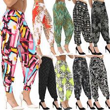 Ladies Trousers Pants Hareem Ali Baba Harem Leggings Baggy Plus Size Ladies 8-26