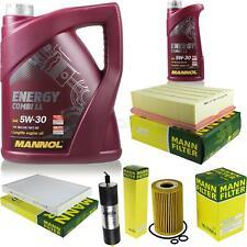 Ölwechsel Set 6L MANNOL Energy Combi LL 5W-30 + MANN Ölfilter Service 10047746