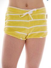 Brunotti Shorts Sommershorts Samthose Garricks gelb gestreift Pocket