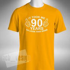 MI ci vollero 90 anni a sembrare COSI 'BELLA T-Shirt Divertente 90th. regalo compleanno
