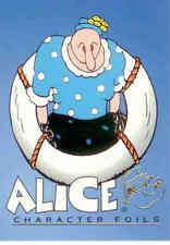 Pop Eye Trading Card Character Foil Card CF8: Alice