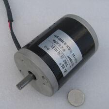 DC12/24V 50/80/100W 1650/3400RPM Brush DC Motor For DIY Spun Sugar Machine