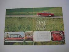 advertising Pubblicità 1965 FIAT 2300 S COUPE'