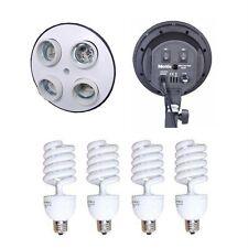 800w Photography Photo Studio 4 Head Socket Lamp Light
