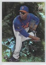 2014 Bowman Sterling Canary Diamond Refractor #22 Rafael Montero New York Mets