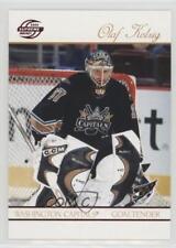 2003-04 Pacific Supreme Red #100 Olaf Kolzig Washington Capitals Hockey Card